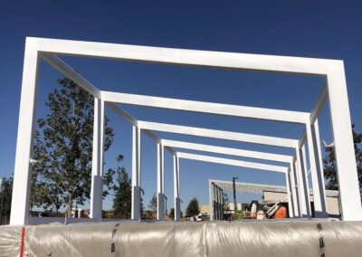 Confluence Park Steel Structure 1